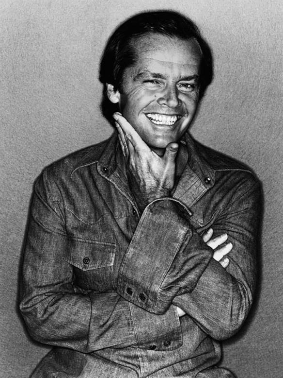 Jack Nicholson by David Bailey 1978 © David Bailey