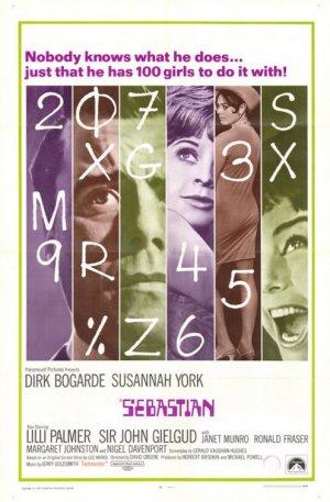 Sebastian (1968), Film Poster