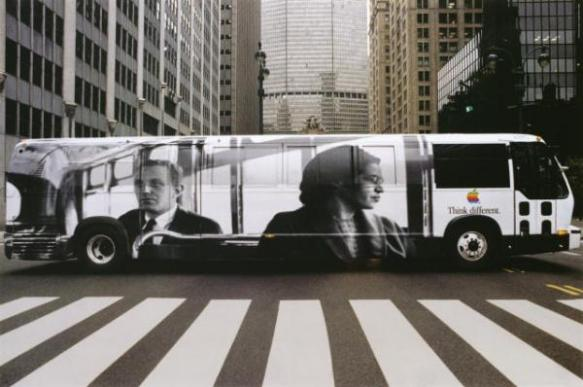 Think Different Rosa Parks Poster