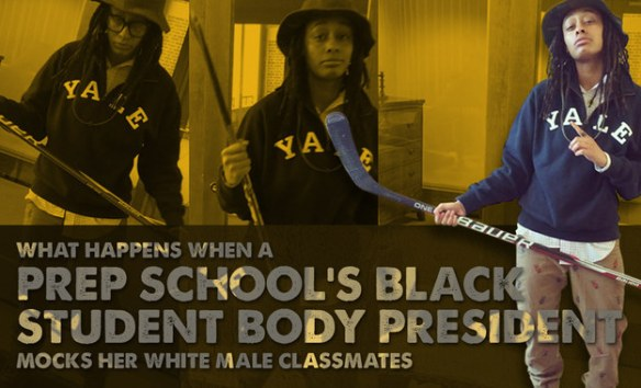 What Happens When A Prep School's Black Student President Mocks Her White Male Classmates